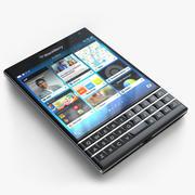Blackberry Passport 3d model