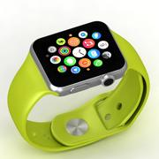 Apple Watch Green 3d model