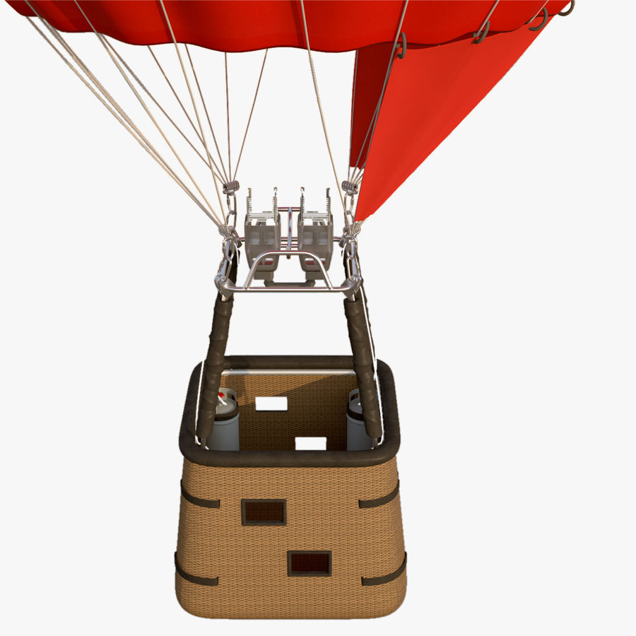 Luchtballon royalty-free 3d model - Preview no. 8