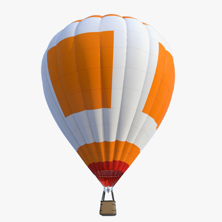 Luchtballon royalty-free 3d model - Preview no. 1