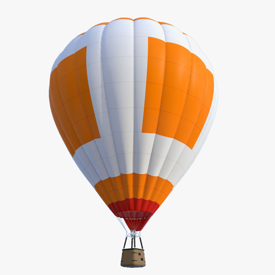 Luchtballon royalty-free 3d model - Preview no. 3