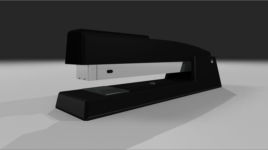 订书机 royalty-free 3d model - Preview no. 3
