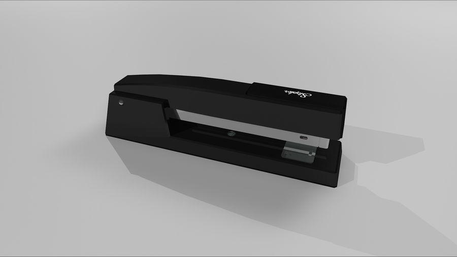 订书机 royalty-free 3d model - Preview no. 6