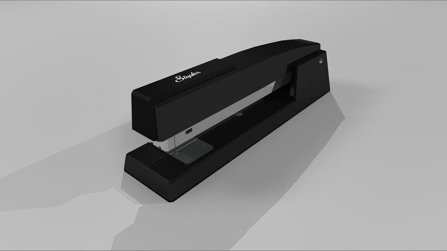 订书机 royalty-free 3d model - Preview no. 2