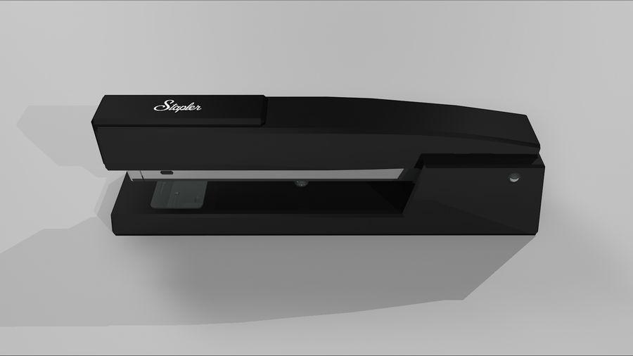 订书机 royalty-free 3d model - Preview no. 4