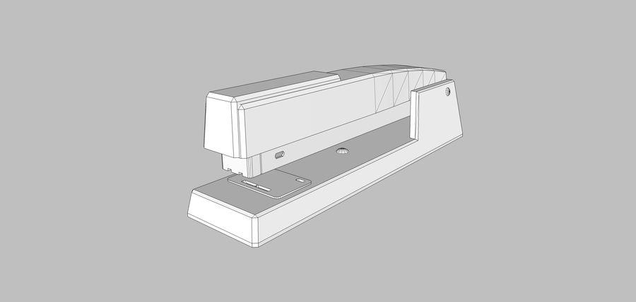 订书机 royalty-free 3d model - Preview no. 8