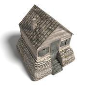 Medieval Cabin 3d model