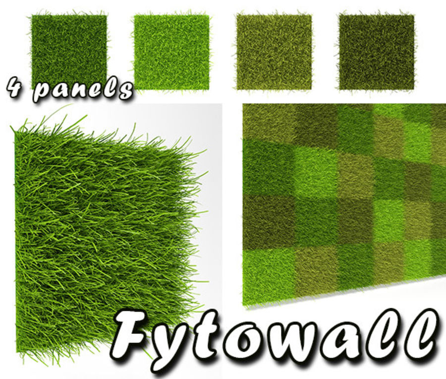 Fytowall royalty-free 3d model - Preview no. 1