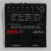 Guitar Effects Pedal / Processor 3d model