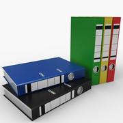 Folders 3d model