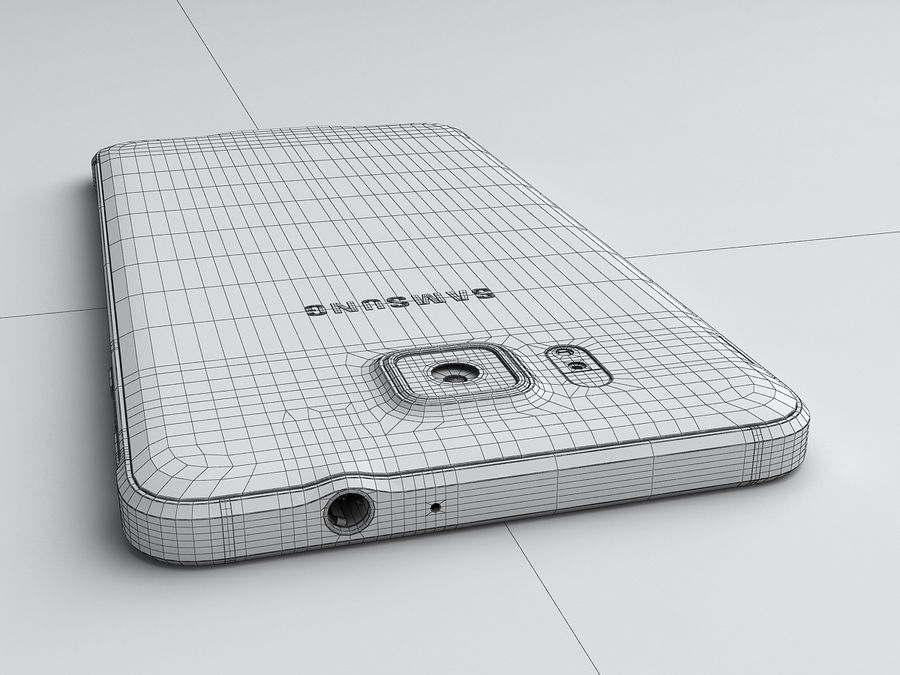 Samsung Galaxy Alpha royalty-free 3d model - Preview no. 22