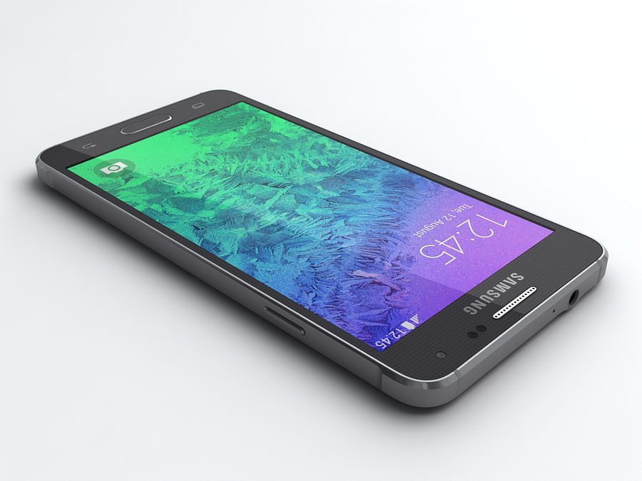 Samsung Galaxy Alpha royalty-free modelo 3d - Preview no. 2