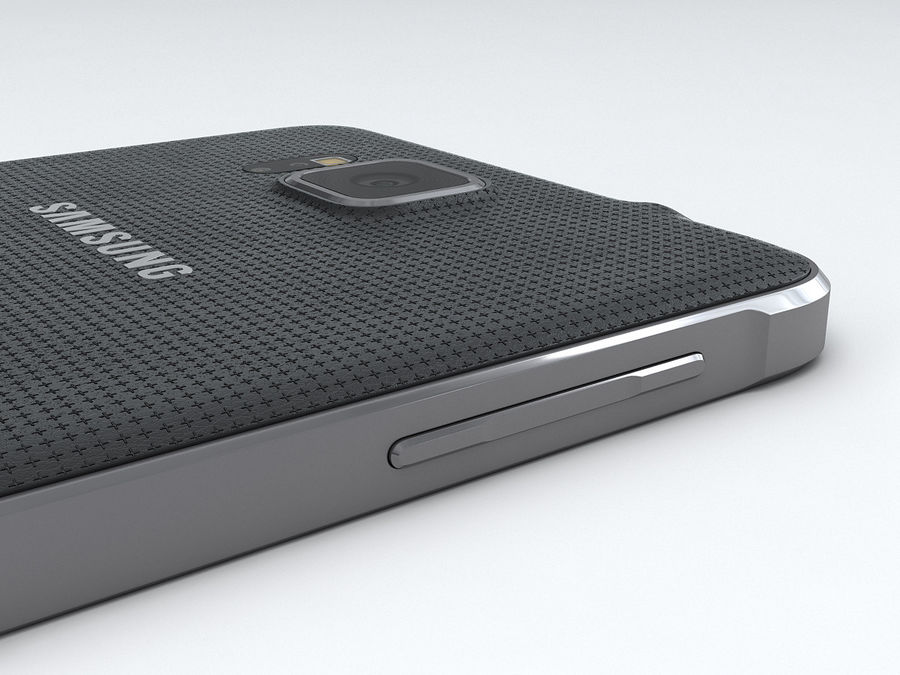 Samsung Galaxy Alpha royalty-free 3d model - Preview no. 16