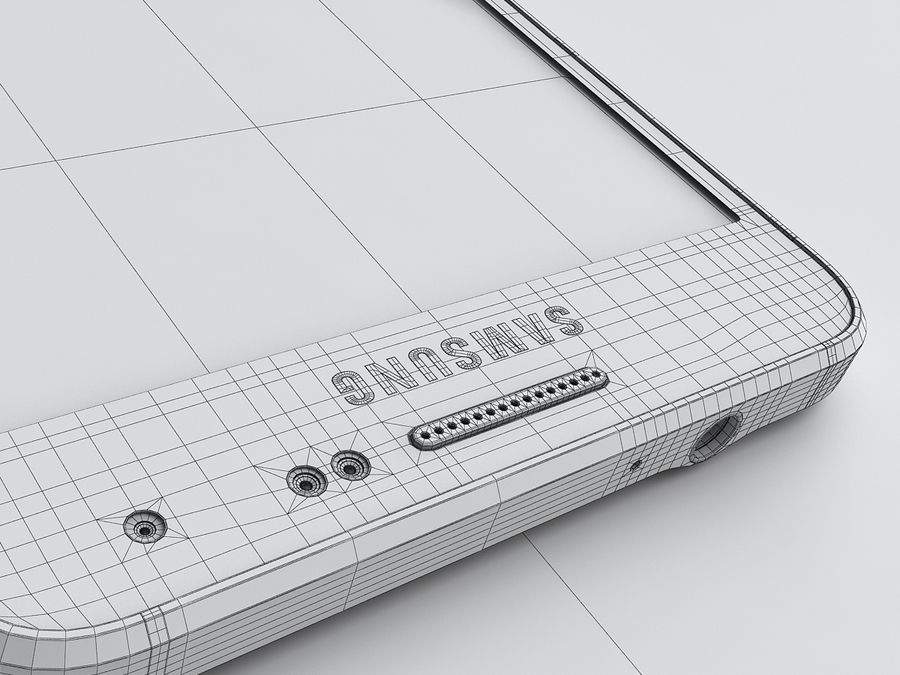 Samsung Galaxy Alpha royalty-free 3d model - Preview no. 24