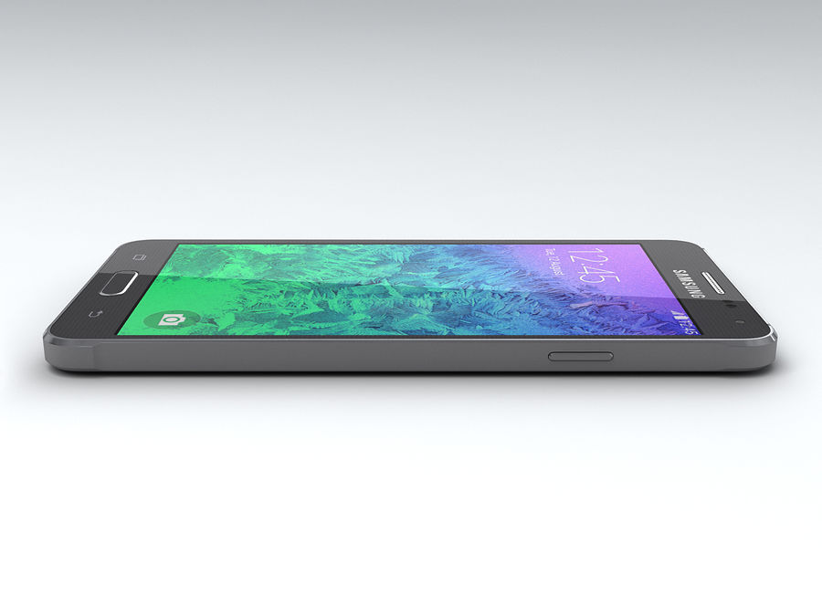 Samsung Galaxy Alpha royalty-free 3d model - Preview no. 9