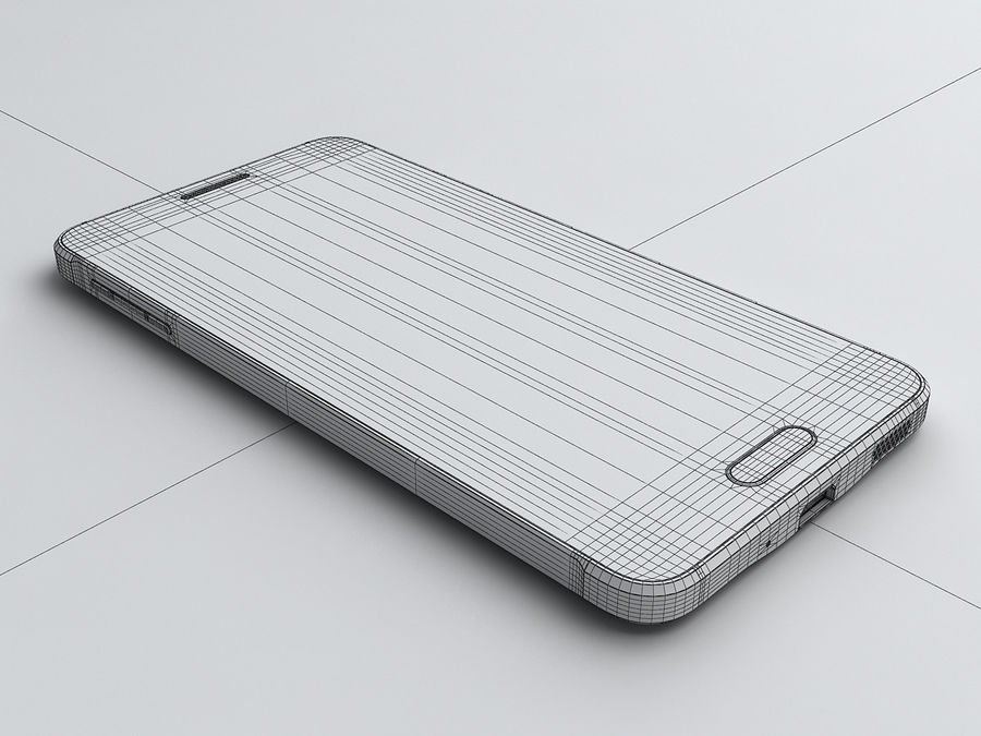 Samsung Galaxy Alpha royalty-free 3d model - Preview no. 18