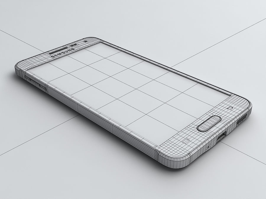 Samsung Galaxy Alpha royalty-free 3d model - Preview no. 19