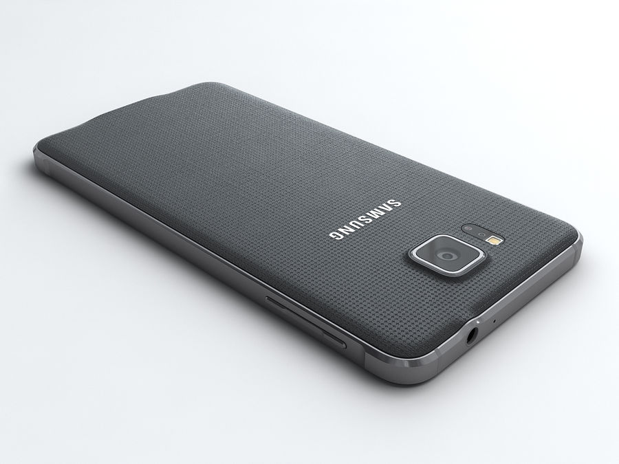 Samsung Galaxy Alpha royalty-free 3d model - Preview no. 3