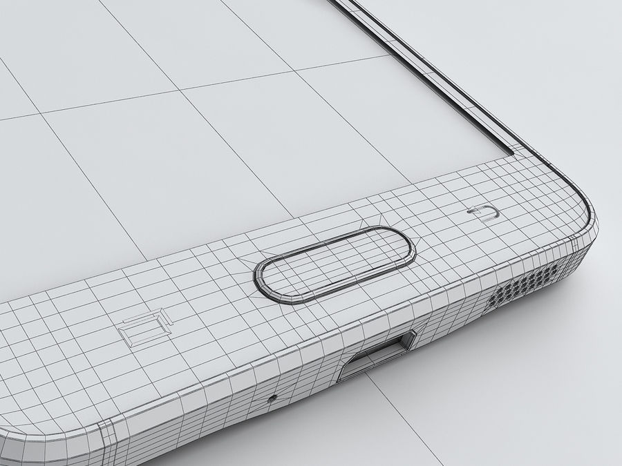 Samsung Galaxy Alpha royalty-free 3d model - Preview no. 23