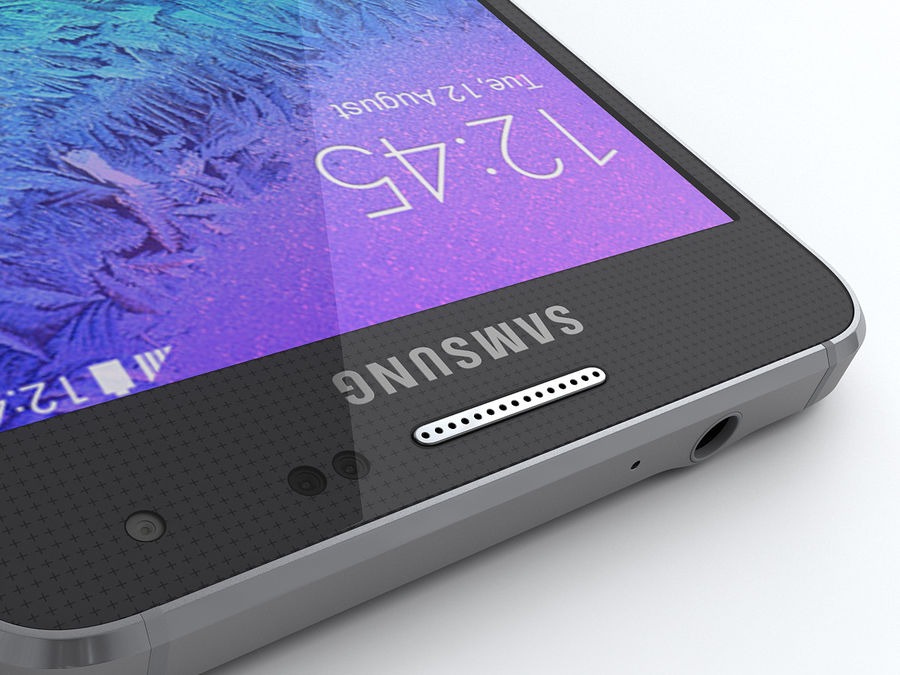 Samsung Galaxy Alpha royalty-free modelo 3d - Preview no. 14
