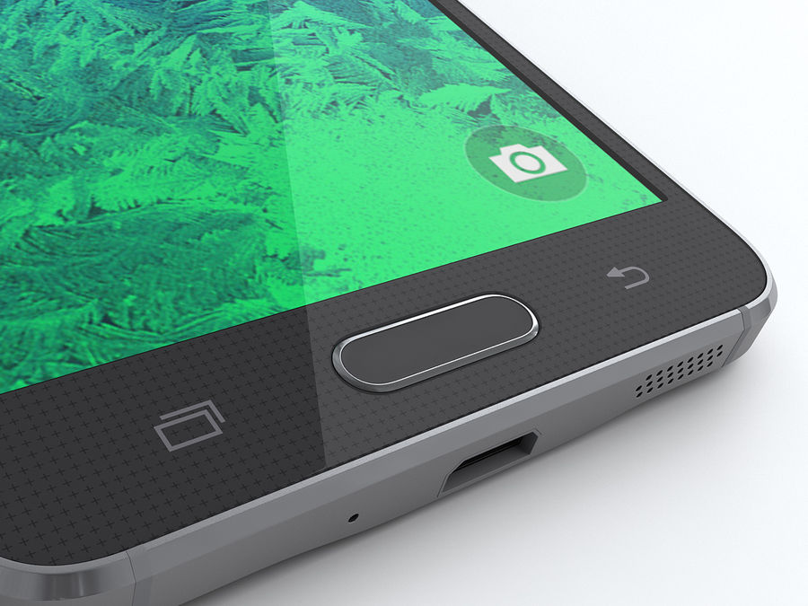 Samsung Galaxy Alpha royalty-free 3d model - Preview no. 13