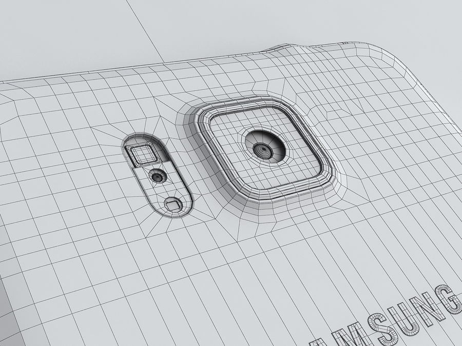 Samsung Galaxy Alpha royalty-free 3d model - Preview no. 25