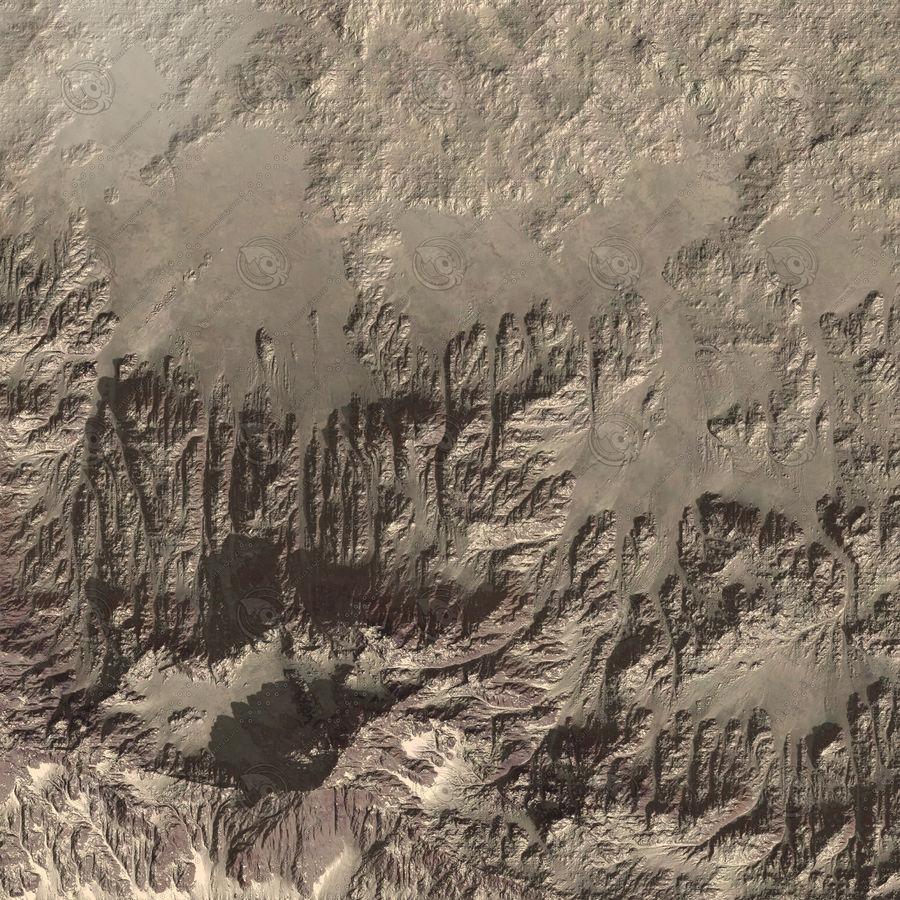 Montanha do Oriente Médio royalty-free 3d model - Preview no. 5