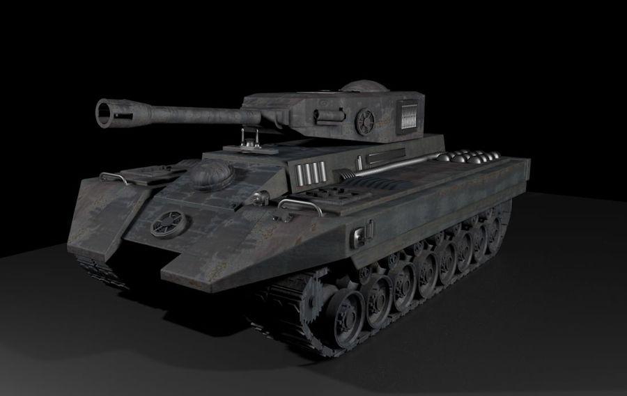 Tank War royalty-free 3d model - Preview no. 2
