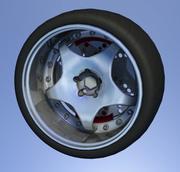 Tuning wheel 3d model