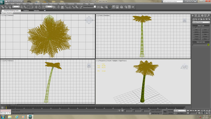 Palme royalty-free 3d model - Preview no. 13