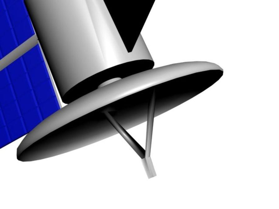 Satélite royalty-free 3d model - Preview no. 5