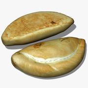Pastel de estaño minero modelo 3d