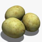 Выпечка картофеля 3d model