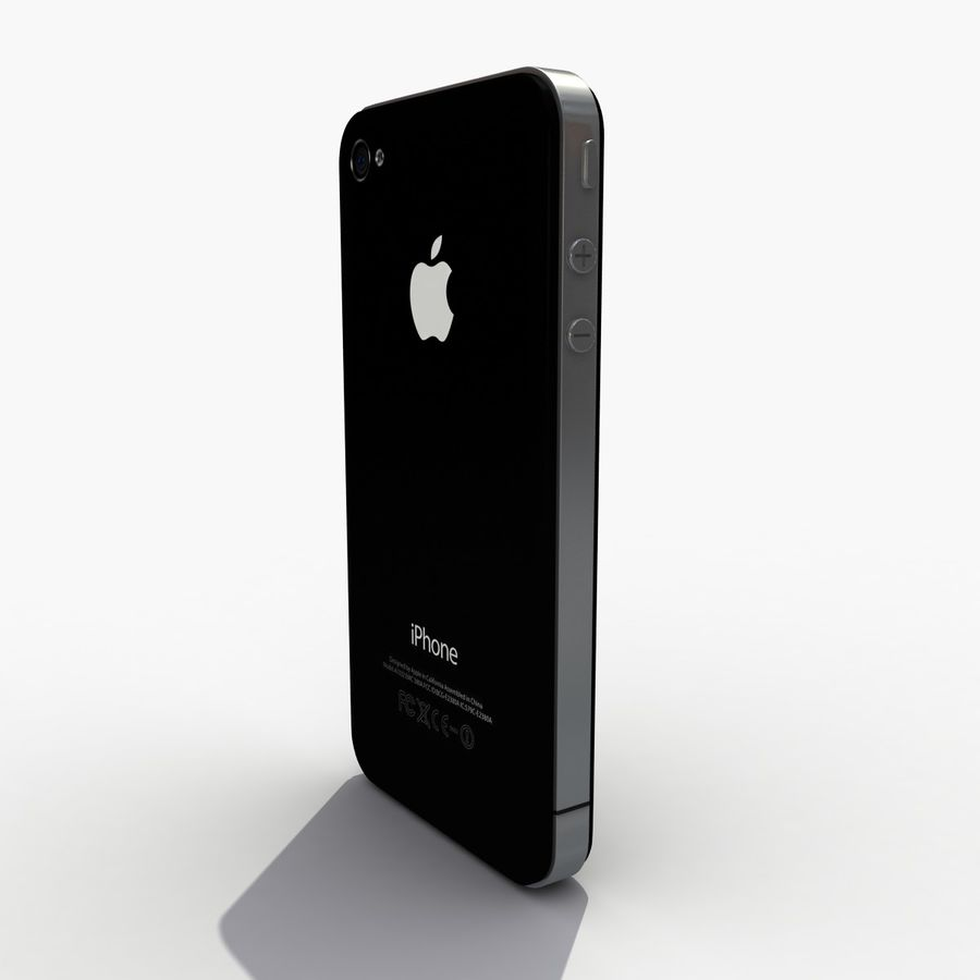 Iphone royalty-free 3d model - Preview no. 5
