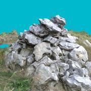 Hög med stenar 3d model
