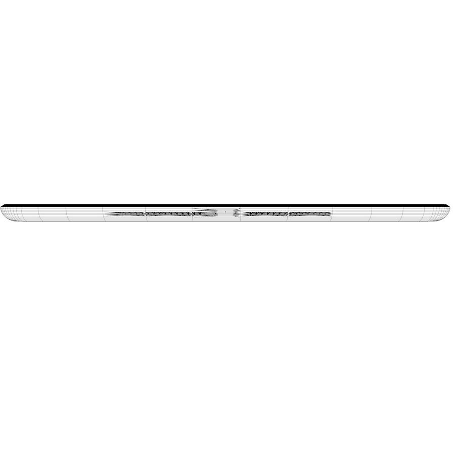 Apple iPad Air 2 Weiß (Silber) royalty-free 3d model - Preview no. 11