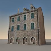 Italian Building 003 3d model