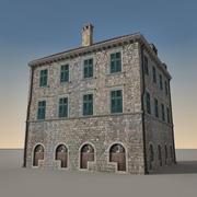 Italian Building 013 3d model