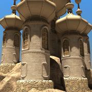 castelo 3d model