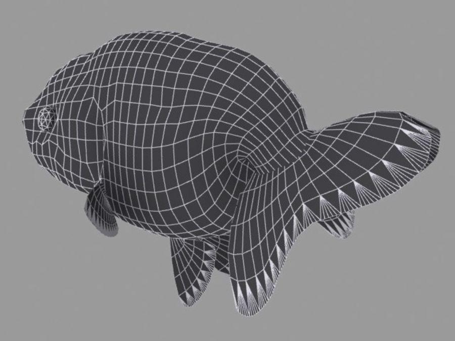 Akvaryum balığı royalty-free 3d model - Preview no. 12