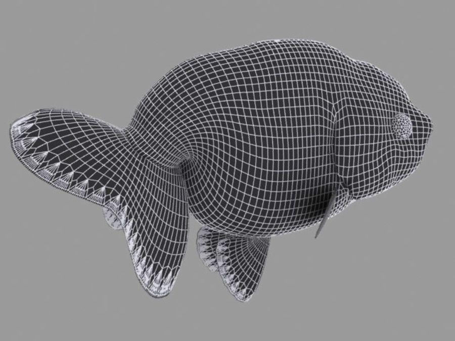 Akvaryum balığı royalty-free 3d model - Preview no. 11
