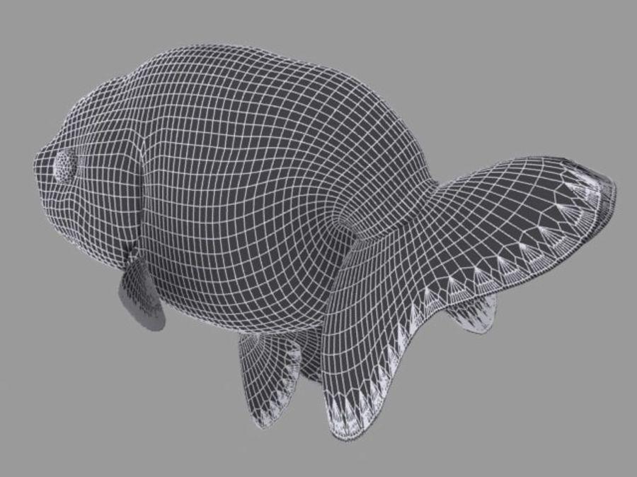 Akvaryum balığı royalty-free 3d model - Preview no. 13