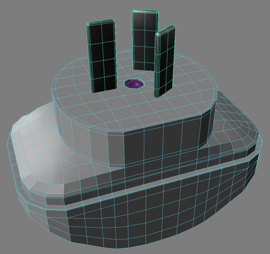 이중 어댑터 royalty-free 3d model - Preview no. 8