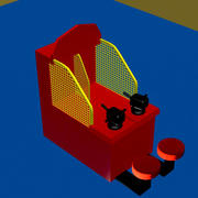 Redemption arcade game 3d model