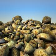 Escombros de rocas 0 modelo 3d
