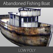 Abandoned Fishing Boat 3d model