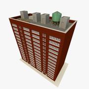 Bina 5 Büro ve Daireler 3d model