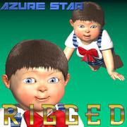 Bebé (Rigido) modelo 3d
