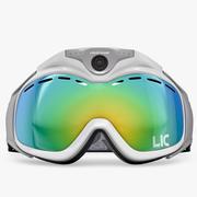 Ciekły obraz maski narciarskiej 3d model