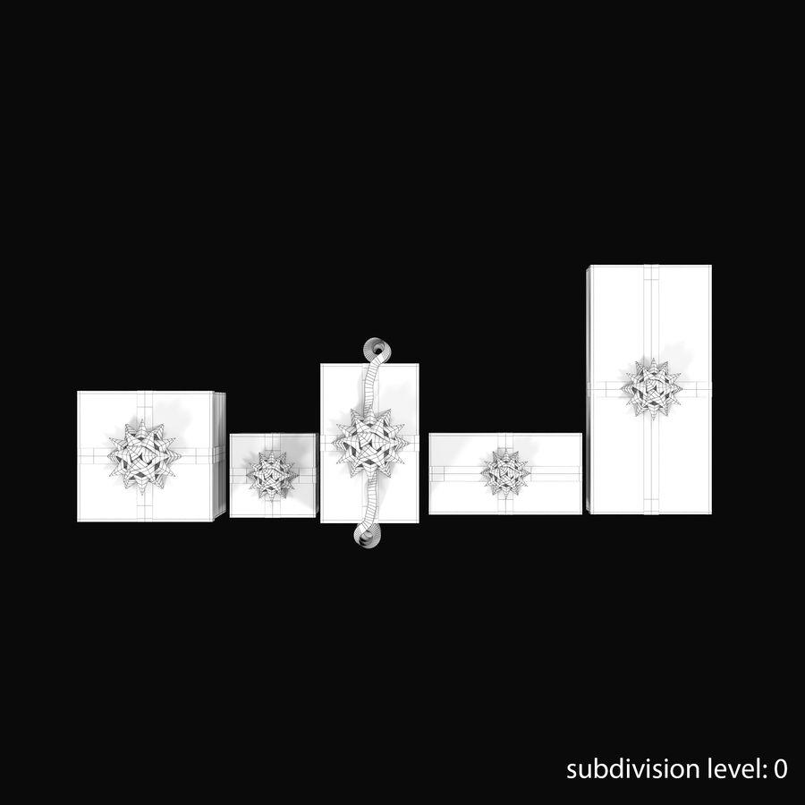 Geschenkboxen Rot royalty-free 3d model - Preview no. 10